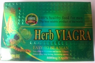Thuốc cường dương Herb Viagra cực mạnh (cao cấp từ Thái)