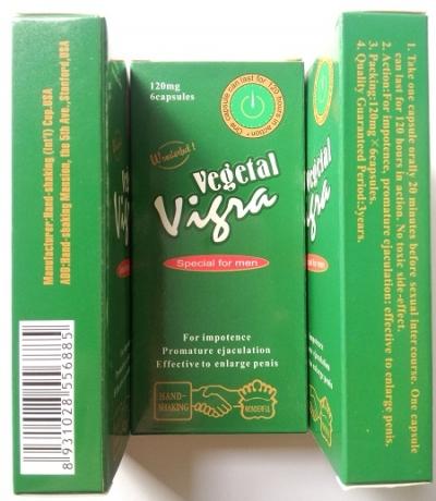 Thuốc cường dương Vegetal Vigra (cao cấp từ USA)